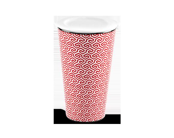 Ly sứ dưỡng sinh 0.48 L (K1) - Red Karakusa (LTF)
